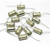 20 pcs 2200pF 500V 10% Vintage Styroflex Audio Capacitors Copper Leads USSR NOS