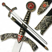 Knights Templar Sword Of The Crusades - Crusader- Masonic - Freemason - Medieval
