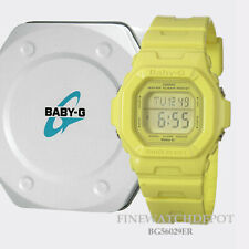 Authentic Casio Baby-G Yellow Digital Display Watch BG56029ER