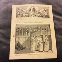 Antique Book Print - Professor Ruskin's May-Day Festival - 1889