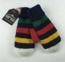 HBC Hudson's Bay Stripes Gloves Mittens Youth