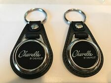 Chevy Chevelle Keychain 2 pack clasic car logo