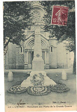 42 - cpa - L'ETRAT - Monument aux morts de la Grande Guerre