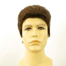 Perruque homme 100% cheveux naturel châtain clair ref QUENTIN 8