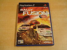 PLAYSTATION 2 GAME - RALLY FUSION