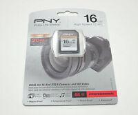 PNY 16G class 10 SD card for Nikon D3000 D3200 D5000 D5100 D5200 D7000 HD camera