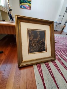 Picasso Lithograph Print Framed First edition w/ COA  LITTLE BULLS