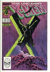 Uncanny X-Men 251 - Wolverine Crusified - High Grade 9.0 VF/NM