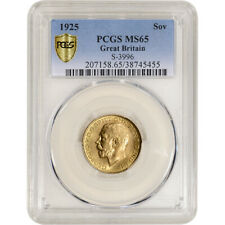 1925 Great Britain Gold Sovereign - PCGS MS65 S-3996