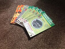 Collection of Ashford  Town Football programmes