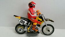 Tyco R/C Xtreme Moto-X Cycle Travis Pastrana 199 Suzuki Dirt Bike HTF