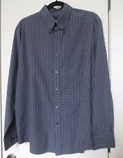 Dockers Long Sleeve Plaid & Checks Button Down Shirt Men's L (16-16 1/2)