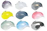 Biltwell Bubble Shield for Bonanza 3-Snap Helmets Motorcycle Helmets