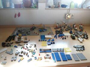 Lego Konvolut Space Weltraum Classic 7 x Figuren Zubehör 15 x Ausgaben Platten