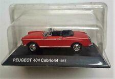 PEUGEOT  404  CABRIOLET  1967    HACHETTE / NOREV     1/43