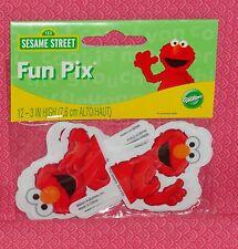 Elmo Cupcake Fun Pix/Picks,12 ct..Wilton,2113-3462,Red, Child Birthday