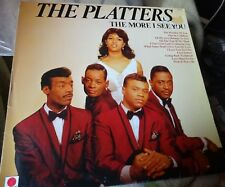 THE PLATTERS uk LP record THE MORE I SEE YOU.on Spot label.
