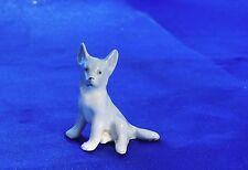 Antique Porcelain Gotha Pfeffer Germany German Shepherd Belgian puppy dog