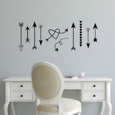 ARROWS - WHIMSICAL VARIETY  Nursery Kids Home Wall Decal Quote Decor Art