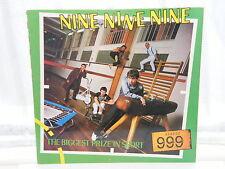 "Nine Nine Nine / 999 The Biggest Prize In Sport 12"" Lp 1980"
