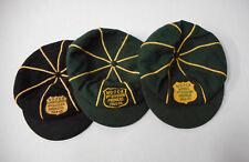 31de4649d76 THREE(3) 1964-1967 WYONG 1st DIVISION JUNIOR CRICKET CAPS