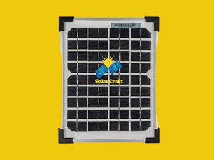 Énergie renouvelable Smart  4x5 Watt 12V monocristallin photovoltaïque Panneau