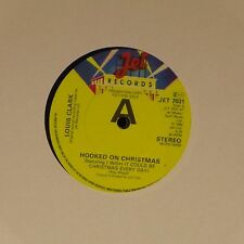 "LOUIS CLARK 'HOOKED ON CHRISTMAS' UK 7"" SINGLE PROMO COPY"