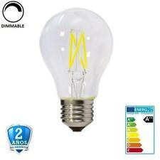 Bombilla LED E27 6W A60 600lm Apertura 300º- Regulable (Dimmable)