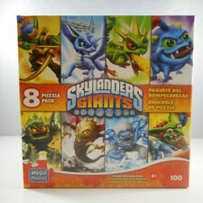 Skylanders Giants - 8 Puzzle Pack - Includes Reference Sheet - 100 Pcs. - Sealed