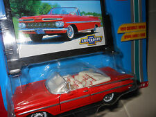 1/43  Road Champs Classic 1959 Chevrolet chevy CONV impala die cast car