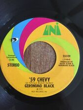 GERONIMO BLACK 45 rpm 59' CHEVY on UNI Label Jimmy Carl / Frank Zappa MOTHERS