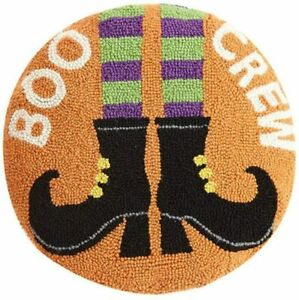 "Peking Handicraft - Boo Crew 16"" Round Pillow - 31TG684C16RD"