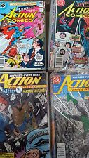 action comics Superman Comic Lot of 89 498-657 vf-nm bagged