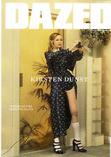 DAZED &CONFUSED S/2017 KIRSTEN DUNST Bruce LaBruce STELLA LUCIA Martine Syms NEW