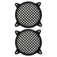 "2 Goldwood Sound SWG-6 Steel Waffle Woofer Grills w/ Hardware for 6.5"" Speakers"