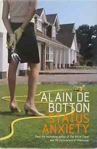 1st edition Status Anxiety by Alain de Botton illustrated used HB dust jacket