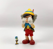 Kaws Pinocchio & Jiminy Cricket Limited Edition 2010 Medicom Toy Replica figure
