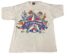 VTG 90's Looney Tunes Texas Rangers Single Stitch T Shirt,All star,Bugs,taz,USA