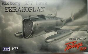Victory 357 Hawk Ekranoplan ,1:72, AMP, Plastikmodellbausatz, NEU