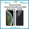 New Apple iPhone Xs Max 512GB 6.5-inch Dual SIM Unlocked - Grey - Apple Warranty