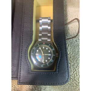 Borealis Deep diver watch blue shark Wristwatch Men's From Japan MIYOTA9015