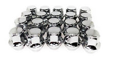 20 12x1.5 19mm Lug Nuts Hex Chrome OEM Factory Style Acorn Ford Fusion Focus