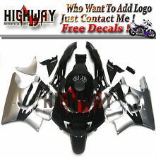 Cowling Kit Fairing Bodywork Kits work for Honda CBR600 F3 95-96 black silver