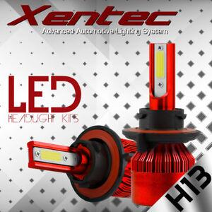2x H13 9008 488W 48800LM LED Headlight Conversion Kit Hi/Lo Bulbs White 6000K