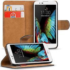 Klapptasche für LG K10 LTE Handy Hülle Case Flip Cover Wallet Schutz Tasche Etui