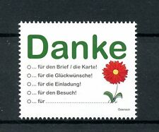 Austria 2016 MNH Greetings Thank You 1v Set Flowers Stamps