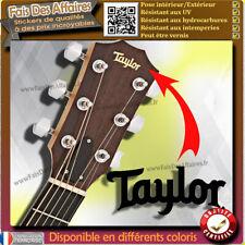 sticker autocollant Taylor GUITARE GUITAR HEADSTOCK rock decal