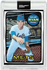 PRESALE Topps Project 2020 #87 Nolan Ryan New York Mets - Joshua Vides