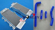 For YAMAHA YZ250F YZF250 2002-2005 02 03 04 05 Aluminum radiator + silicone hose