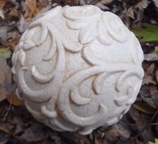 "Latex garden ball mold 3.75""W x 3.75""H"